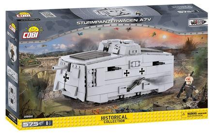 Bild på COBI Great War 2982 - Sturmpanzerwagen A7V