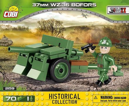 Bild på Cobi Small Army 2159 - 37 mm wz.36 Bofors