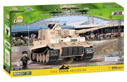 Bild på Cobi Small Army WW2 2519 Tiger I 131