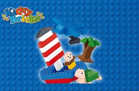 Bild för kategori Kiddie Bricks