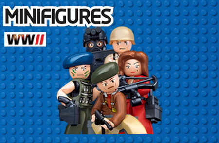 Bild för kategori Minifigures WWII