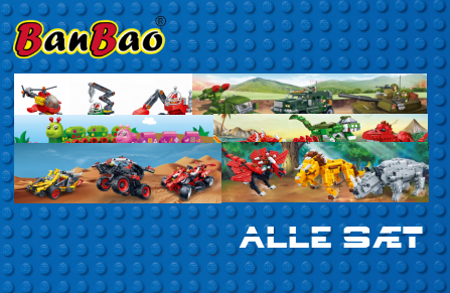 Bild för kategori BanBao alle sæt