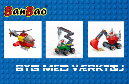 Bild för kategori BanBao Byg & Lær med værktøj