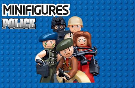 Bild för kategori Minifigures Police