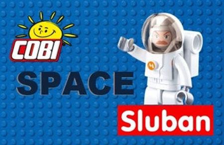 Bild för kategori Space (Sluban & COBI)