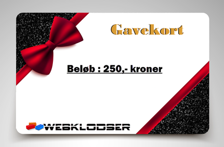 Bild på Gavekort elektronisk 250,- Kroner