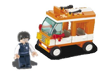 Bild på Lille Minibus, Sluban Mini Bus M38-B0179
