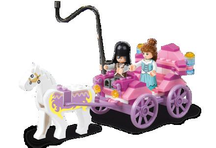 Bild på Prinsesse hestevogn, Sluban Princess Carriage M38-B0239