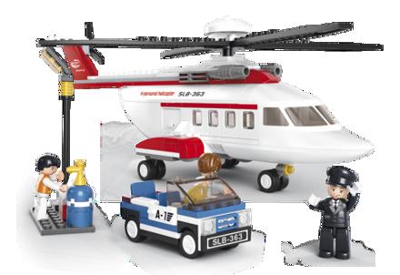 Bild på Helicopter,Sluban Helicopter M38-B0363