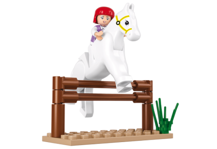 Bild på Springhest, Sluban Jumping Horse M38-B0517