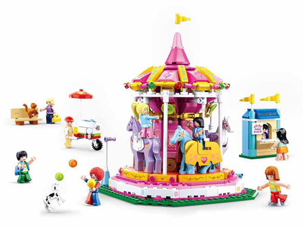 Bild på Sluban - amusement park carrousel M38-B0725