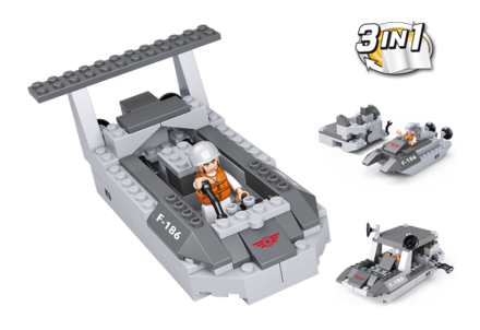 Bild på Landgangsfartøj 3-i-1, Sluban Landing Craft 3-in-1 M38-B0537D