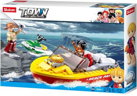 Bild på Livredder speedbåd, Sluban Speedboat M38-B0671