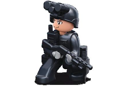 Bild på Sluban Cop With Night Vision On Helmet M38-B0585D