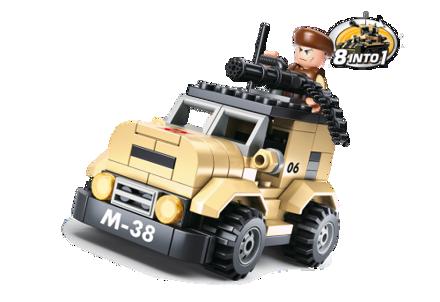 Bild på Sluban Patrol Car M38-B0587A