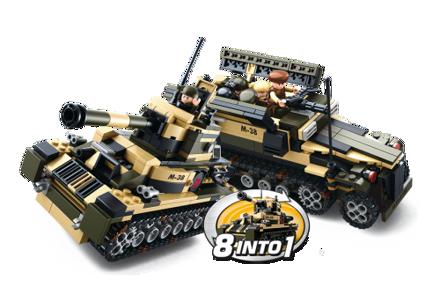 Bild på Sluban Tank or APC 8 Into 1 M38-B0587