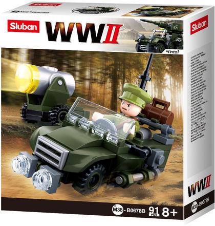 Bild på Sluban M38-0678B Jeep