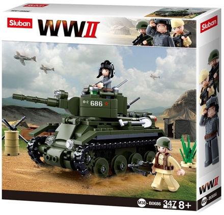 Bild på Sluban M38-0686 BT7 Cavalry Tank
