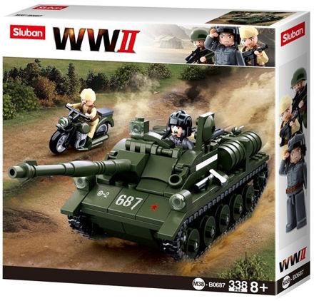 Bild på Sluban M38-0687 SU-85 Tank Destroyer