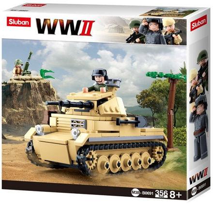 Bild på Sluban M38-0691 Tysk Panzer kampvogn