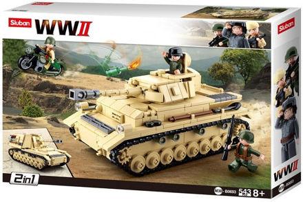 Bild på Sluban M38-0693 Tysk kampvogn