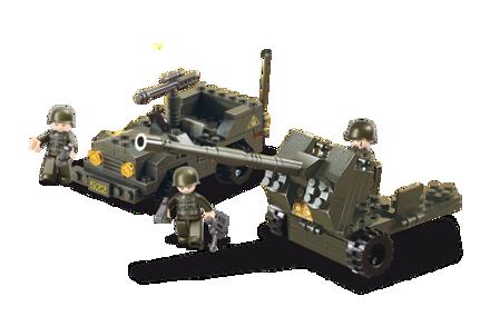 Bild på Anti-Tank kanon, Sluban Anti-Tank Gun M38-B5900