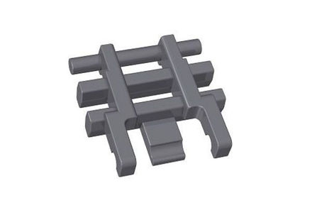 COBI-AGROG Crawler link small 1x1, graphite