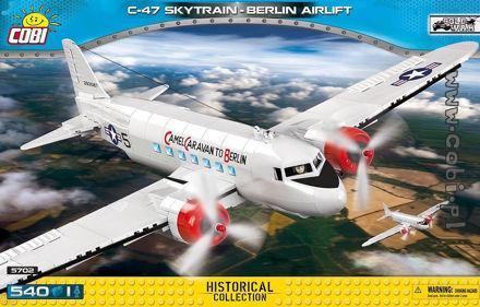 COBI-5702 - C-47 Skytrain Berlin Airlift COLD WAR edition
