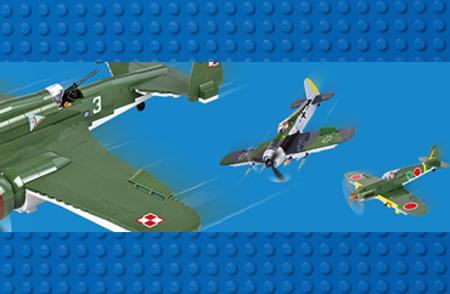 Bild för kategori COBI Airplanes