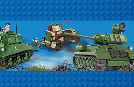 Bild för kategori COBI WWII Tanks & køretøjer