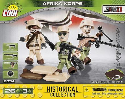 Cobi Small Army WW2 2034 - Afrika Korps