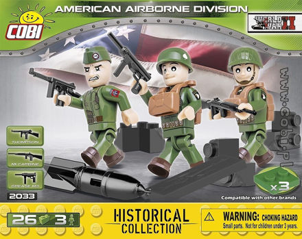 Cobi 2033 - American Airborne Division