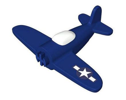 COBI -  Airplane with printing 1:300 Dark blue