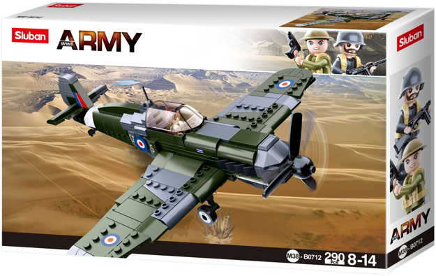 Sluban M38-B0712 - British WWII fighter