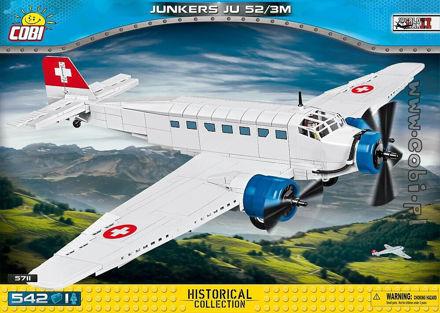 Cobi Small Army WW2 5711- Junkers Ju52 / 3m