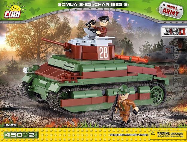 Cobi WW2 2493 - Somua S-35 (Char 1935s)