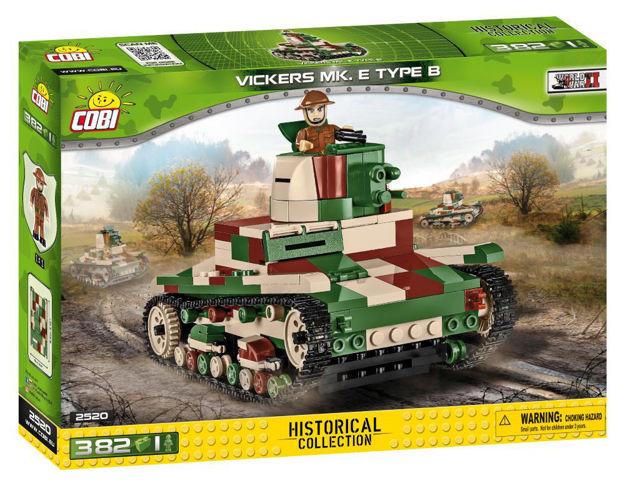 Cobi WW2 2520 - Vickers Mk. E Type B - British light tank