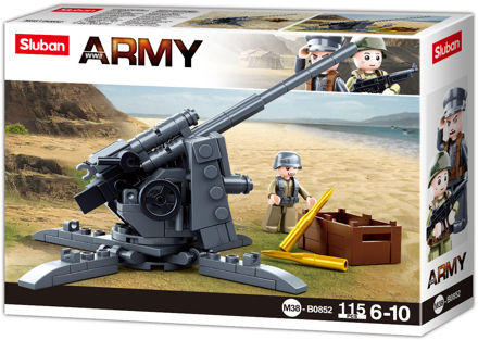 Sluban WWII M38-0852 Tysk Flak
