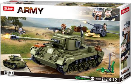 Sluban WWII M38-0860 Medium Amerikansk Tank