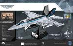 COBI 5805 TOP GUN F/A-18E Super Hornet Limited Edition