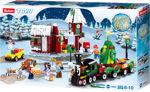 Sluban M38-0887 Hyggeligt jule/vinter landskab