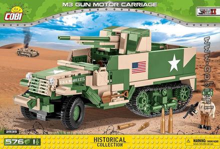COBI WW2 2535 - M3 Gun Motor Carriage