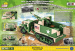 COBI WW2 2535 - M3 Gun Motor Carriage