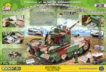 COBI WW2 2540 - Panzerkampfwagen VI Ausf. B Königstiger