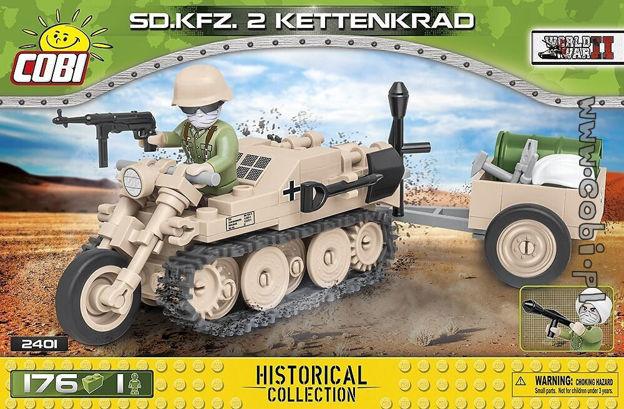 Cobi WW2 2401 - Sd.Kfz.2 Kettenkrad