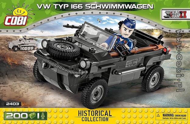 Cobi WW2 2403 - VW Typ 166 Schwimmwagen