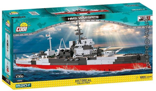 COBI WW2 4820 - HMS Warspite Battleship