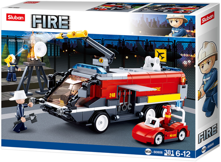 Sluban M38-B0808 - Fly brandslukningskøretøj