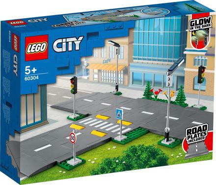 LEGO City 60304 Vejplader