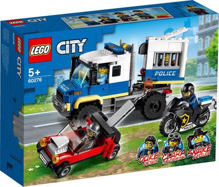 LEGO City 60276 Politiets fangetransport